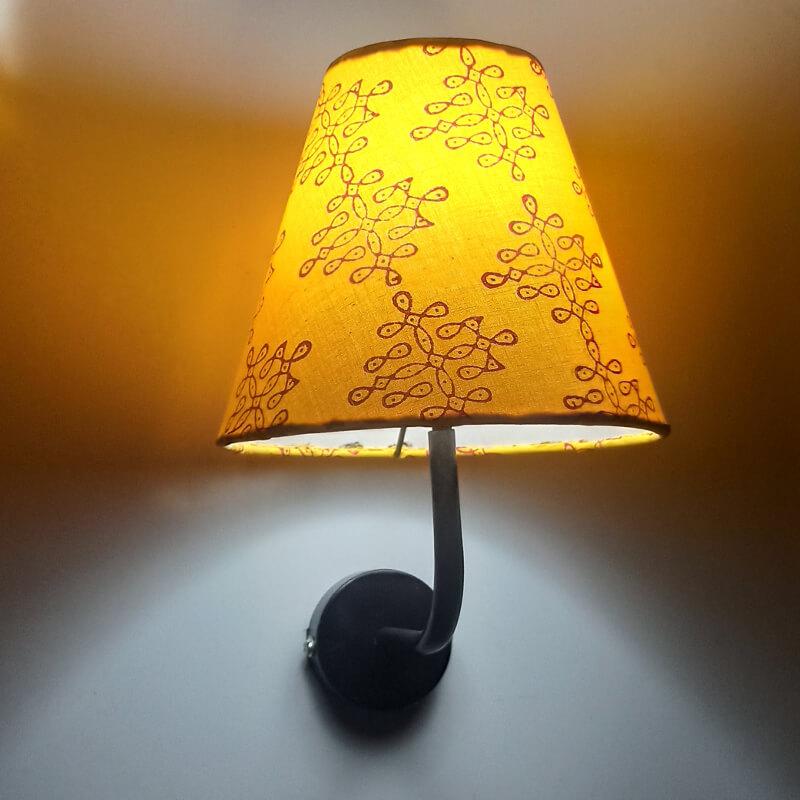 Wall Sconce jute lamp